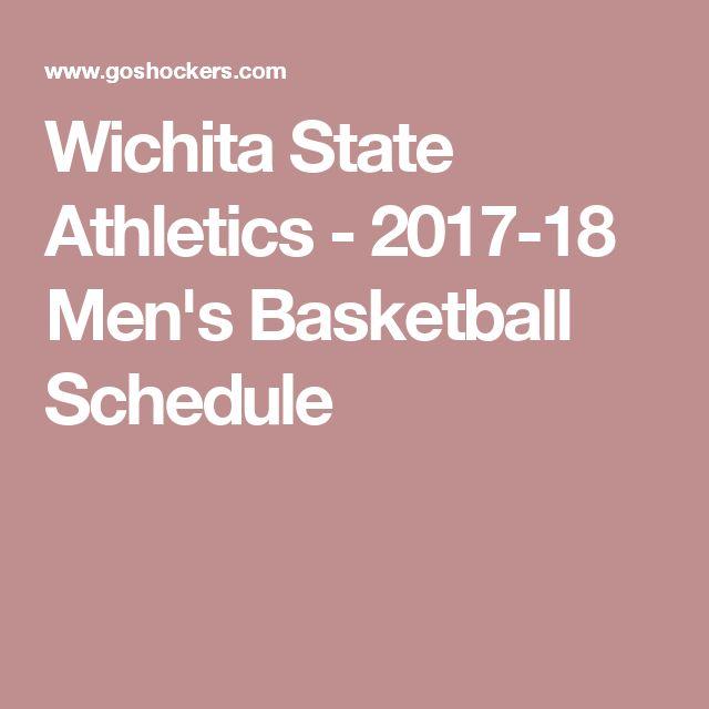 Wichita State Athletics - 2017-18 Men's Basketball Schedule