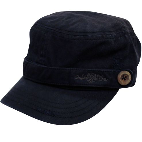 Salt Life Hibiscus military style cap - Ladies