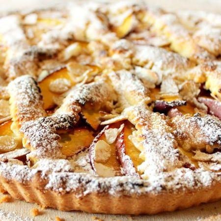 Ricette Bimby - Crostata di mele e crema