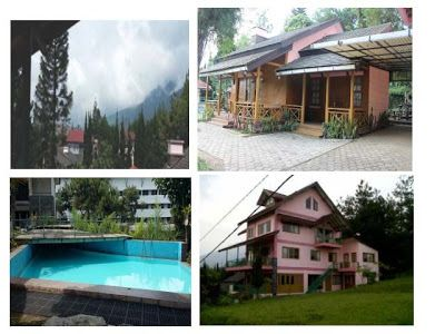 Villa in lembang private pool for big family