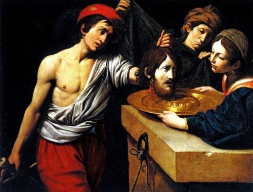 Leonello Spada, Salome with the Head of Saint John the Baptist, c. 1618-9