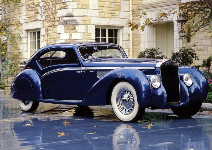 1938 Delage D8 120 Aerodynamic Coupe