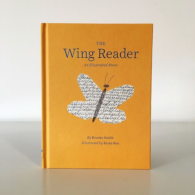 Received an advance copy of The Wing Reader- an illustrated poem written by Brooke Smith + published by the amzg team @chroniclebooks (posted a few page proofs too). Pre-orders are avail at Chronicle Books and @amazon. In bookstores March 6. #chroniclebooks #thewingreader #hopeyouenjoy 💛