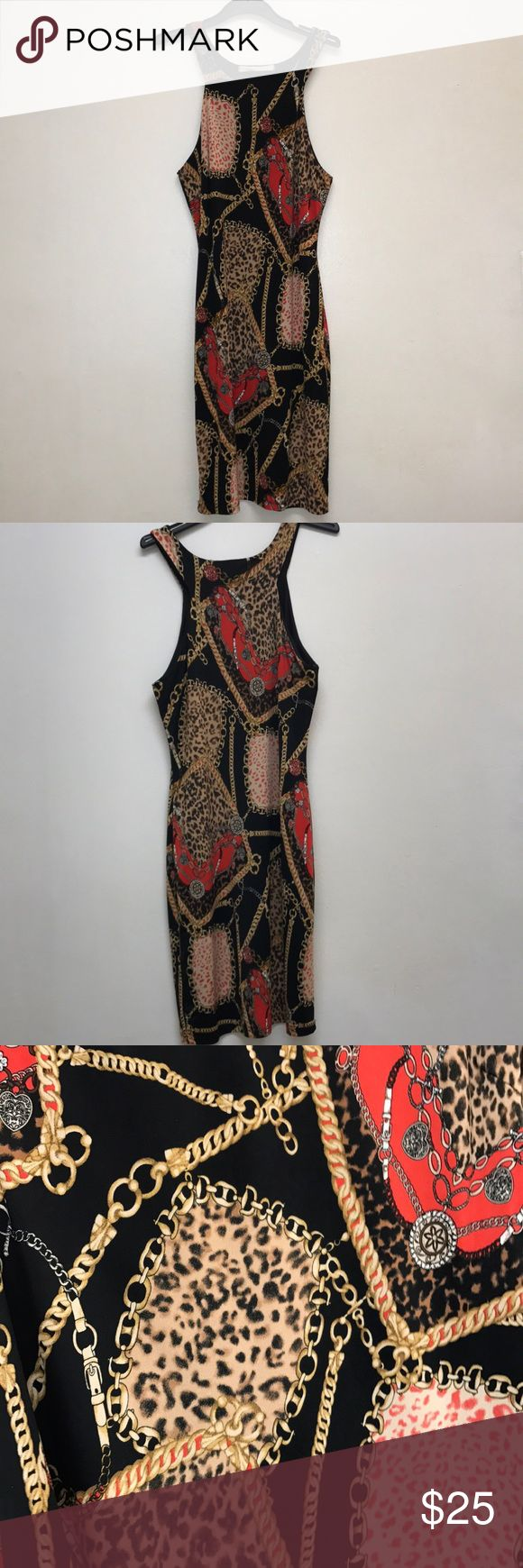 Super Sexy Patterned Sweet Rain Mini Festive Dress Size S Symmetrical dress Perfect for festive occasions Very soft material Pattern throughout  Lies very smoothly on the body Sweet Rain Dresses Mini