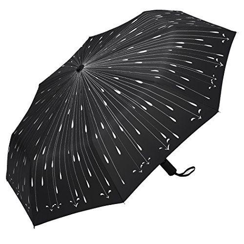 Nuova offerta in #abbigliamento : PLEMO Ombrello Pieghevole Automatico - Antivento da Pioggia per Donna Uomo - Tascabile da Viaggio (Gocce di Pioggia) a soli 1444  EUR. Affrettati! hai tempo solo fino a 2016-10-30 22:34:00
