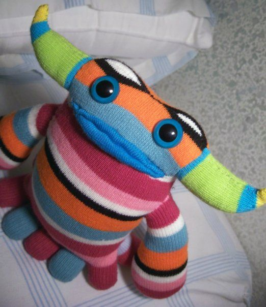 These put my sock monsters to shame.