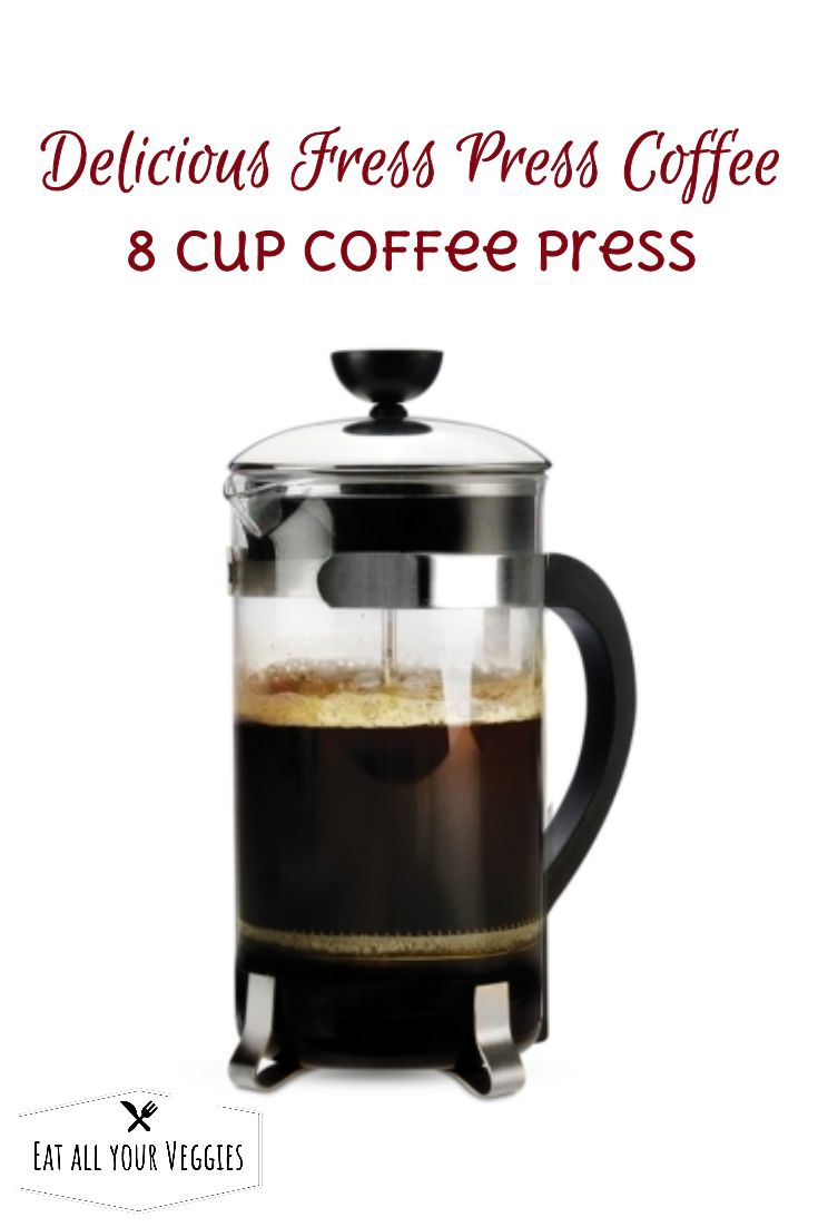 Treat your guests to rich classic taste with this easy-to-use coffee  press from Primula. Its 8-cup capacity is great for when company's  coming. #ad