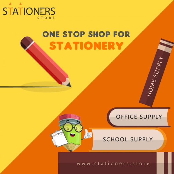 Want to buy #Stationery from the convenience of your home & office? Visit Stationers Store, India's largest online stationery store for Office, School & Home Supplies. http://stationers.store   #StationersStore #BuyStationeryOnline