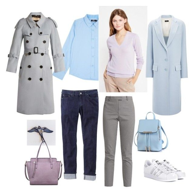 """Нежная, женственная, элегантная"" by sevostianova-e-a on Polyvore featuring adidas Originals, Joseph, Altuzarra, Moda Luxe, Burberry and prAna"