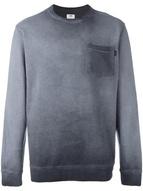 VANS chest pocket sweatshirt. #vans #cloth #sweatshirt