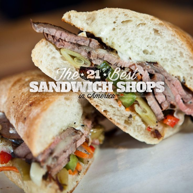 21 best sandwich shops in America.Los Angeles, CA Mendocino Farms WHAT YOU'RE GETTING: Kurobuta Pork Belly Banh Mi Mendocino Farms is an LA-based sandwich market that