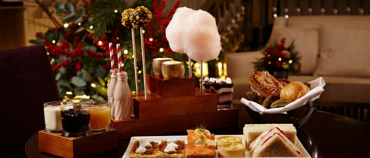 LONDON: One Aldwych (Charlie and the chocolate factory afternoon tea)