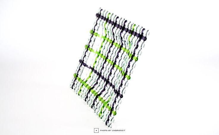 """Χειροποίητη διακοσμητική πιατέλα """"Πλεκτό δίχτυ"""" - Unbrandit"""