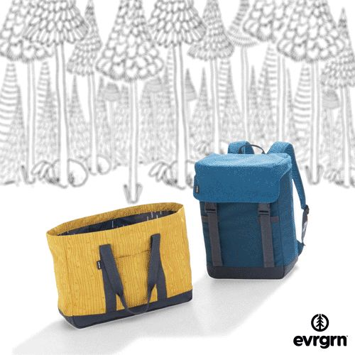 Introducing a cooler way to carry a case. Fill this insulated backpack with up to 24 cans of your favorite beverage and put it on your back to get the party going anywhere. Sometimes the evrgrn 24 pack dwindles to only 23 cans...