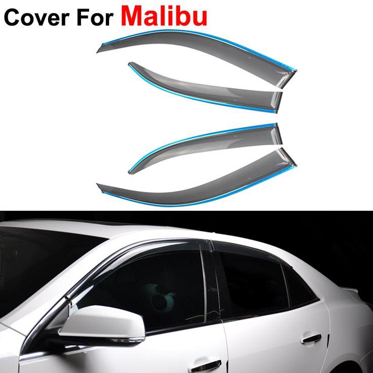4 шт./лот оконные козырьки для Chevrolet Malibu 2012 2013 2014 вс дождь наклейки щит автотентами стиль маркизы приюты