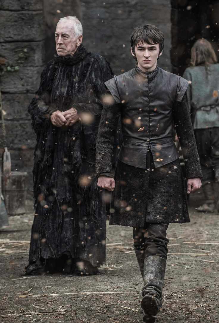 Bran Stark and The Three Eyed Raven - The Door Season 6 Episode 5