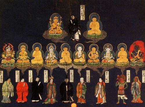 Kasugamandara 春日曼荼羅 of the Kasuga-schrein in Nara