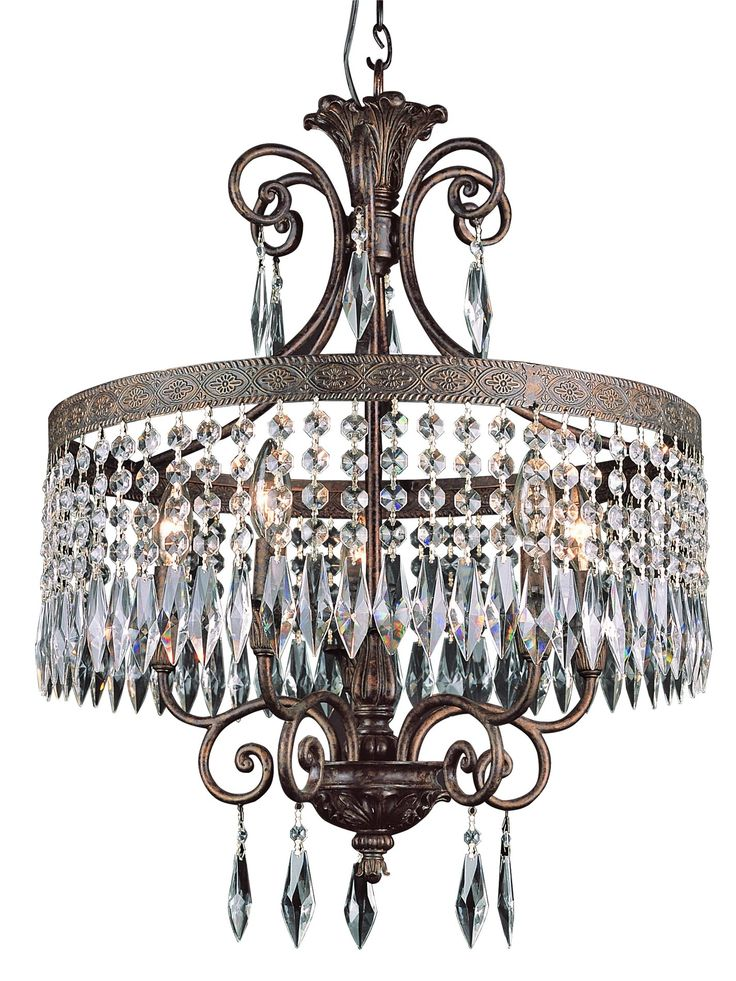 South Shore Decorating: Trans Globe Lighting 8395 DBG The Olde World Traditional Chandelier TG-8395-DBG