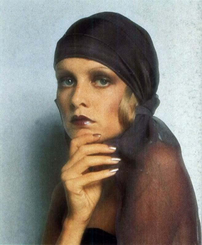 "The Biba Look or ""Dudu"" look appears totally timeless, doe-eyed and bohemian."