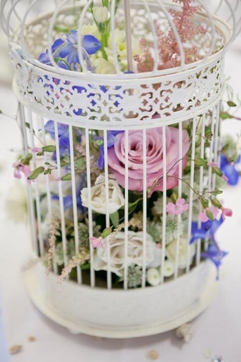 Birdcage centrepiece