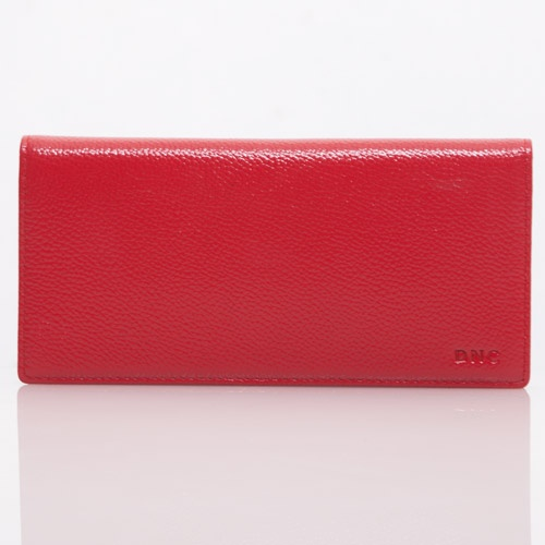 Red Milling Leather Wallet - DNC - IDR 200.000