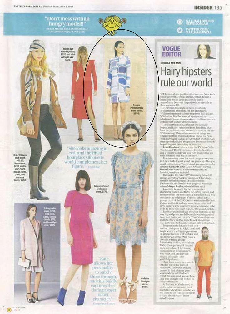 The Sunday Telegraph, February 2014