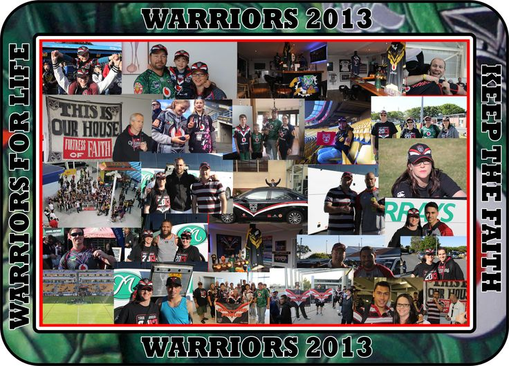 'Warriors for Life' photo montage from Nikki Green