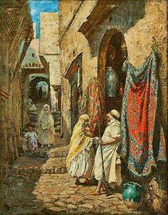 1000+ ideas about Carte Algerie on Pinterest   Algérie, Travel Guide and Voyages www.pinterest.com236 × 302Buscar por imagen Algérie - Peintre Américain Addison Thomas Millar (1860 – 1913), huile sur toile , Titre : Boutique de couvertures