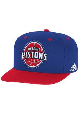 Adidas Detroit Blue 2016 On Court Snapback Hat