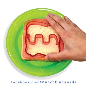 Silly Sandwiches 4 U! #Munchkin #Baby http://on.fb.me/MunchkinCanada