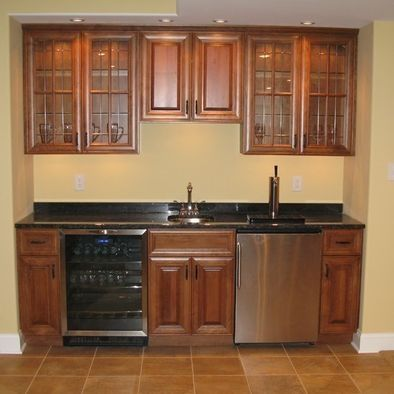 Home Kegerator Bar Designs Here 39 S Another Bar Tucked Into This Finished Basement Design That