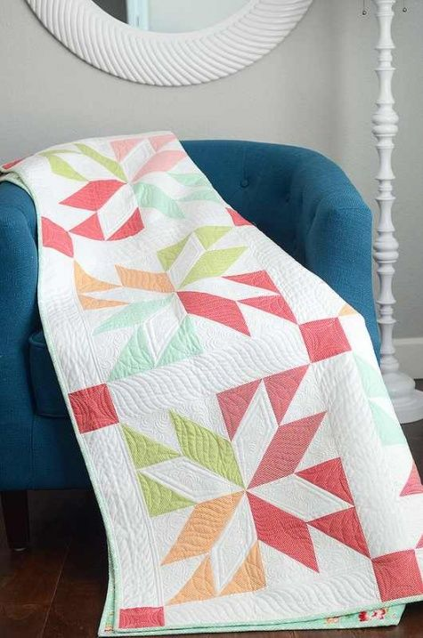 """""""Lucky"""" Quilt Pattern - Quilting Digest"""