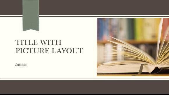 Free Book Presentation Template 1