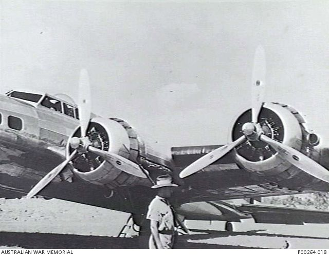 DARWIN, NT. C.1941. A DOUGLAS B-17 AIRCRAFT FROM THE 11TH BOMB GROUP, UNITED STATES ARMY AIR CORPS. (ORIGINAL HOUSED IN AWM ARCHIVE STORE)