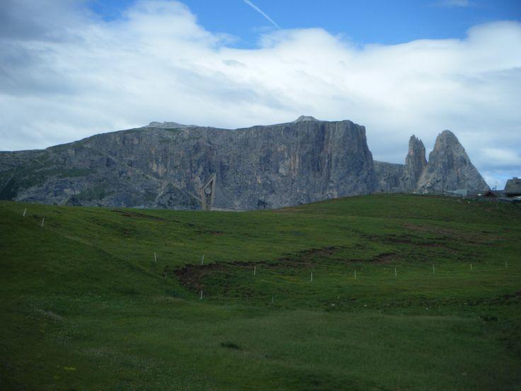 Il profilo dello Sciliar - Alpe di Siusi (Bz)