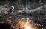 Mountain bike on professional tracks - Hard - Amazing mountain bike tracks in Czech Republic.