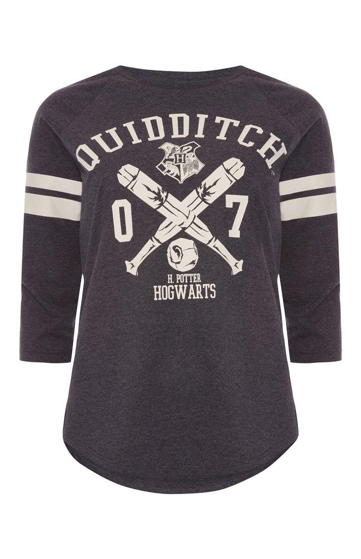 """Primark - """"Harry Potter Quidditch"""" Raglan-T-Shirt"""