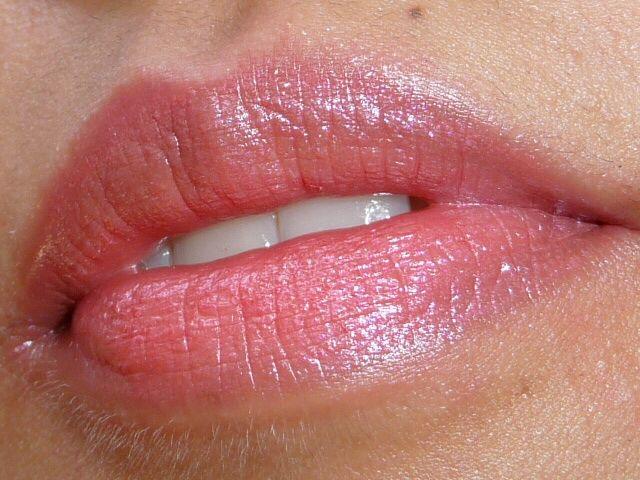 Lancôme lipstick - Vintage Rose BN