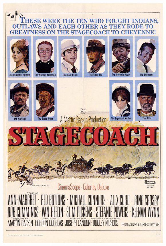 Stagecoach 27x40 Movie Poster (1966)