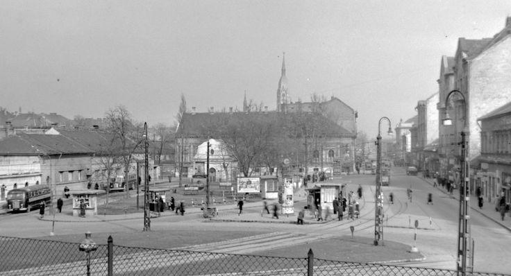 Zalka Máté tér 1960 körül