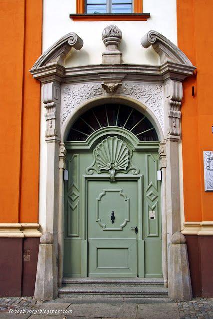 drzwi, door, Wrocław, Poland