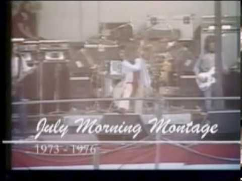 "▶ Uriah Heep - ""July Morning"" montage  (1973) David Byron, vocals [Uriah Heep are an English rock band formed in London in 1969 and are regarded as one of the seminal hard rock acts of the early 1970s. David Byron's quasi-operatic vocals.] ~`j"
