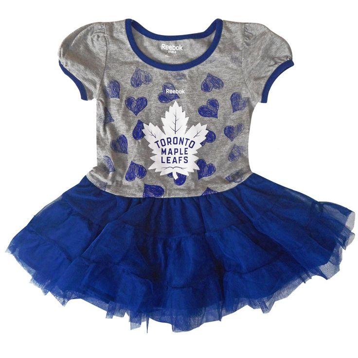 Toronto Maple Leafs Reebok Toddler Girls 'Love to Dance' Tutu Dress - shop.realsports