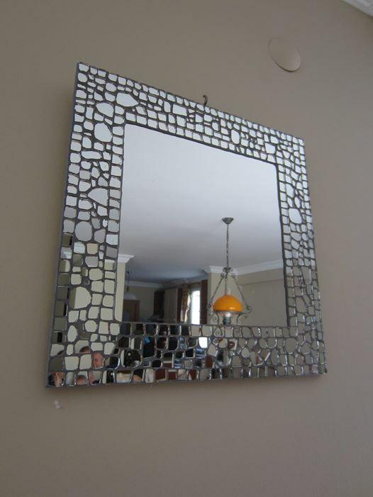 Ayna mozaik çalışmam