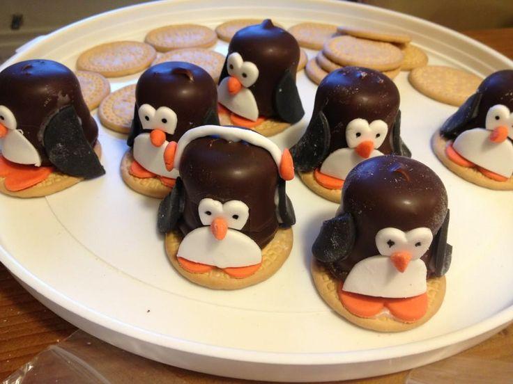 Kindertraktaties: Negerzoen pinguins 2