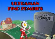 Ultraman Find Zombies | Juegos Plants vs Zombies - Plantas contra zombies