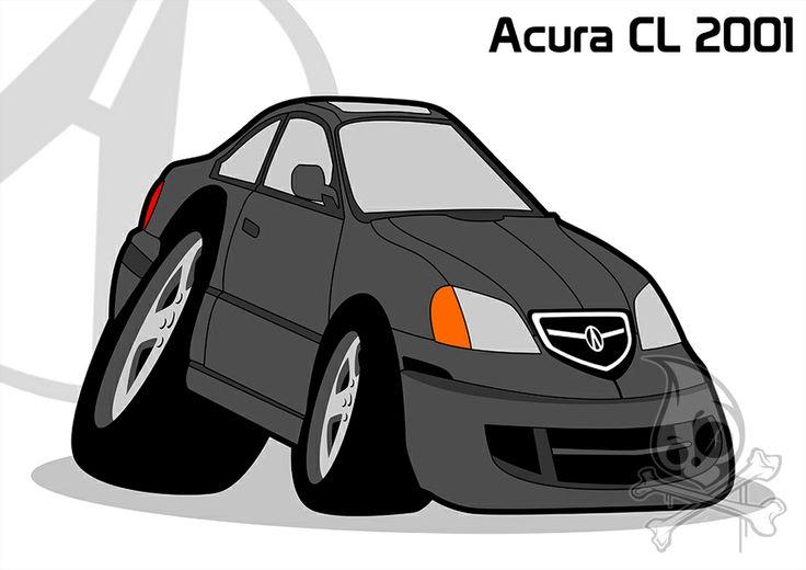 Acura CL 2001.