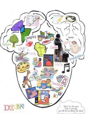 """Backtto school activities: Icebreakers for back to school: FREE """"What's on your mind?"""" back to school icebreaker craftivity.  Students can draw their own """"mind-head"""" or choose 1 of 4 templates.  Completed projects make an awesome bulletin board."""