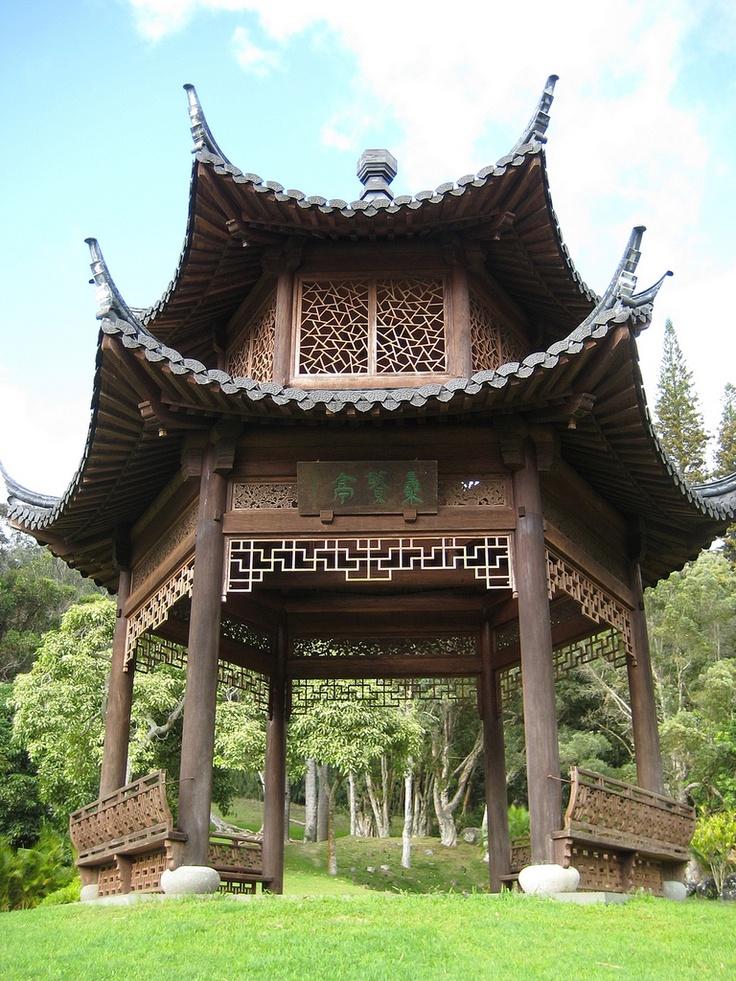 Four Seasons The Lodge at Koele, Lanai: Chinese Pagoda