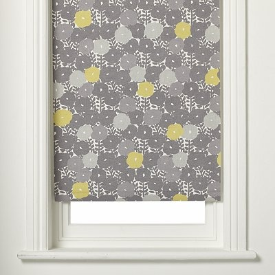 Grey U0026 Yellow Roller Blind